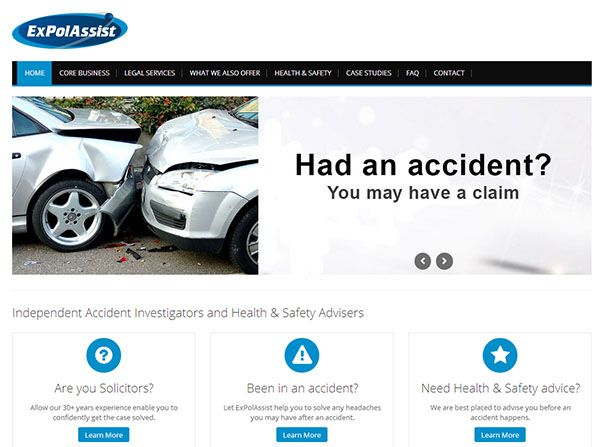 http://expolassist.co.uk/ - Expolassist is an accident investigation company specialising in car accidents