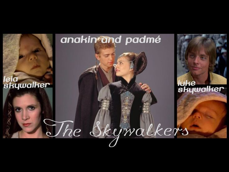 the skywalker family | The Skywalkers Family