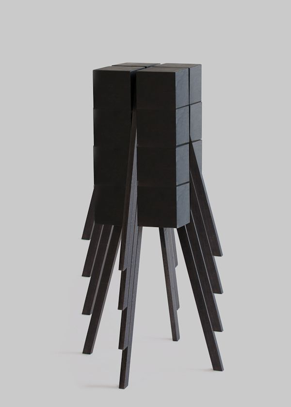 STACKABLE STOOL 02 by Jean-Charles Amey
