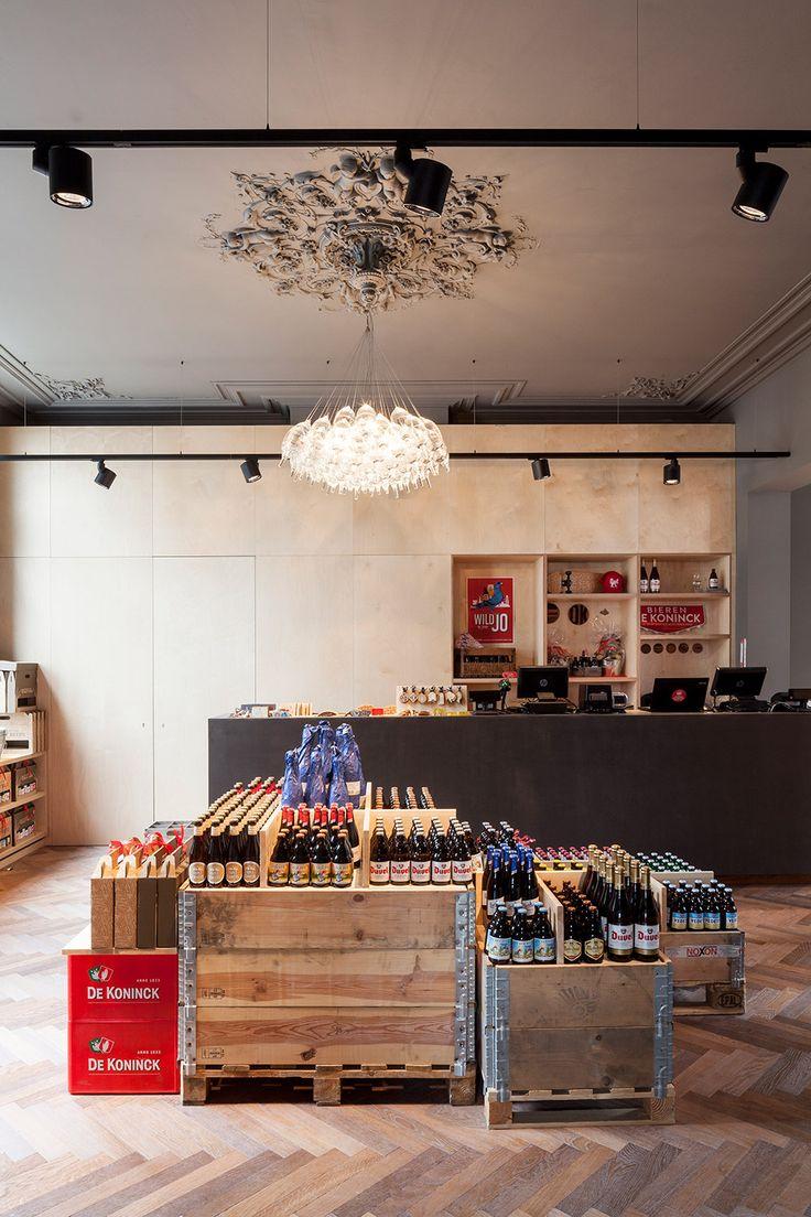Brewery 'Brouwerij De Koninck' in Antwerp (Belgium). Modular Lighting Instruments' Stove lights up the place!