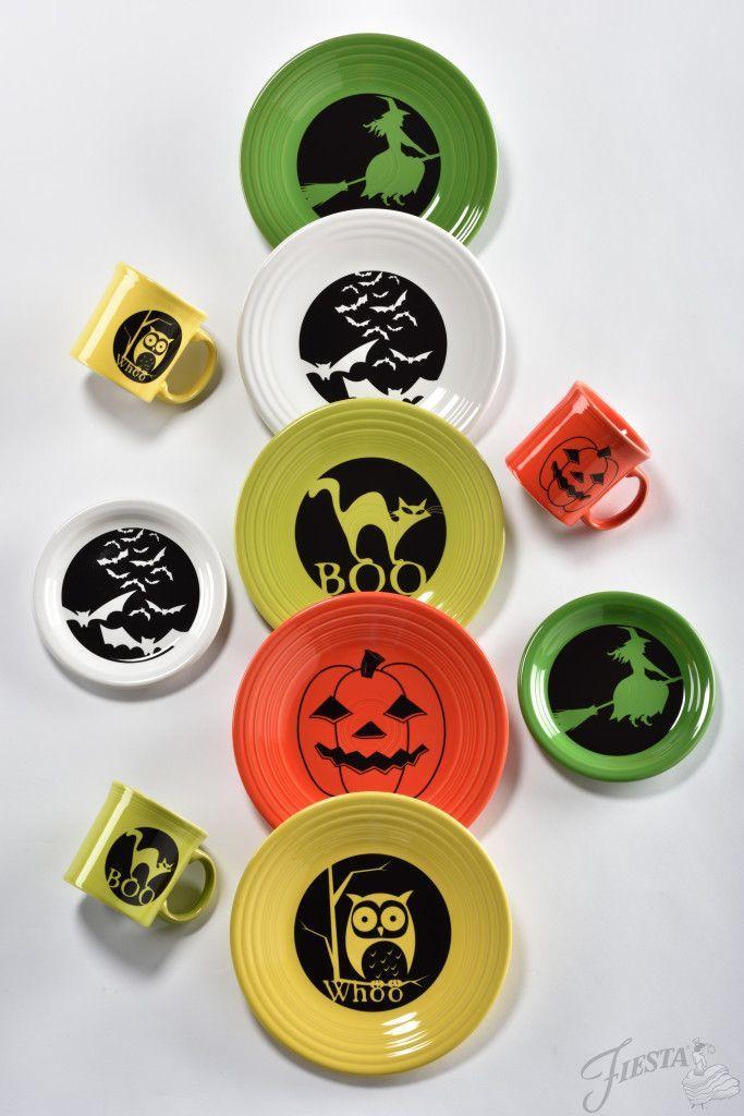 Fiesta Halloween! Get these from Fiesta Dinnerware at FiestaFactoryDirect.com