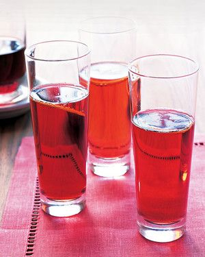 Made with Champagne and creme de cassis (a blackcurrant liqueur), the classic French cocktail is fruity and refreshing. For a casual affair, serve your Kir Royales in stemless glasses.
