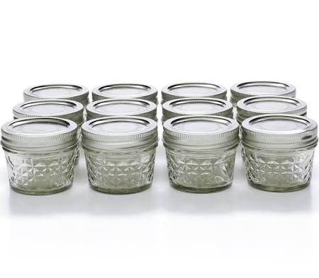canning jars bulk 4 oz - Google Search