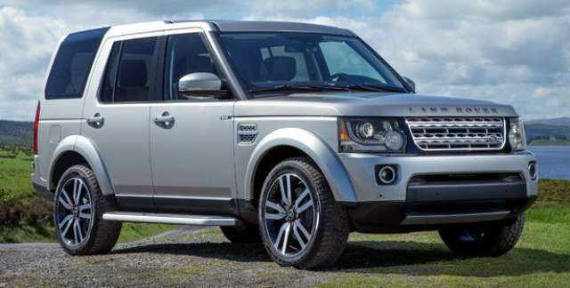 2017 Land Rover LR4 Release date