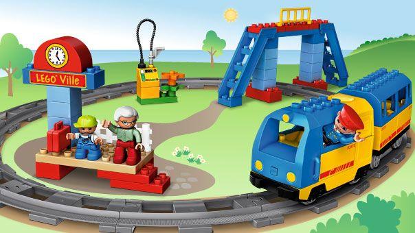 LEGO.com Duplo Products - 5608 Train Starter Set