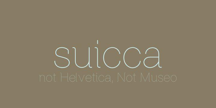 Suicca  - http://fontsdiscounts.com/suicca/