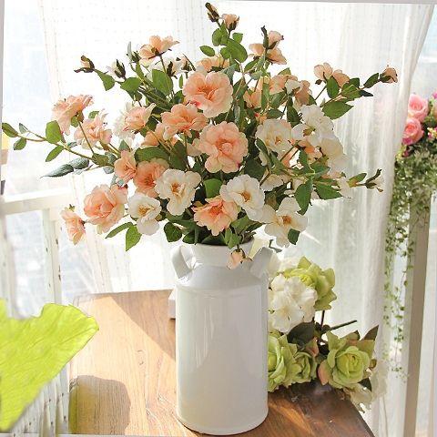 Arranjo flores artificiais