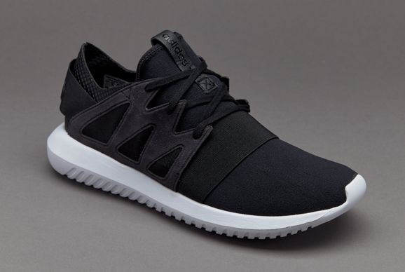 women's adidas navy & white tubular viral material trainers nz