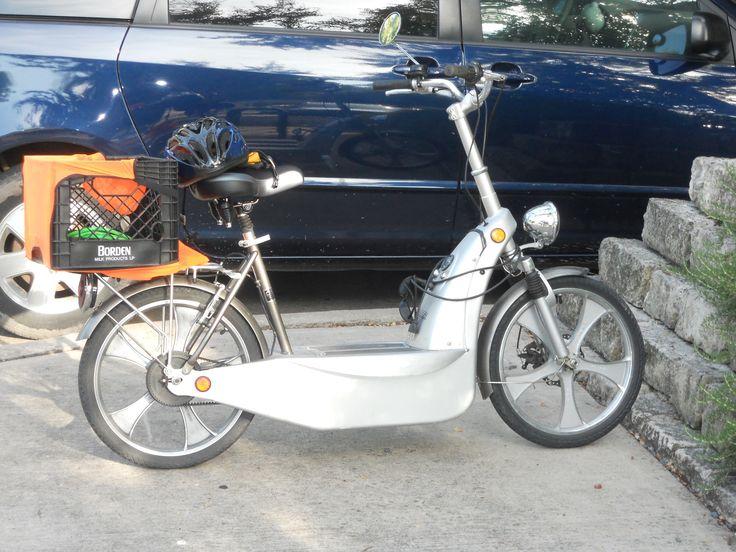 Electric scooter-bike - Austin, Texas