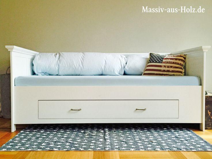 die besten 25 bett mit schubladen ideen auf pinterest bettrahmen mit vorrat bettrahmen mit. Black Bedroom Furniture Sets. Home Design Ideas