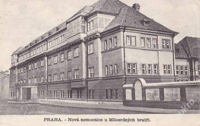 PRAHA- NOVÁ NEMOCNICE U MILOSRDNÝCH BRATŘÍ-