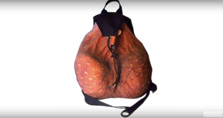Last year a photo went viral, that showed a man waiting in line wearing a scrotum backpack. Since that day, thousands of people have been asking how they c
