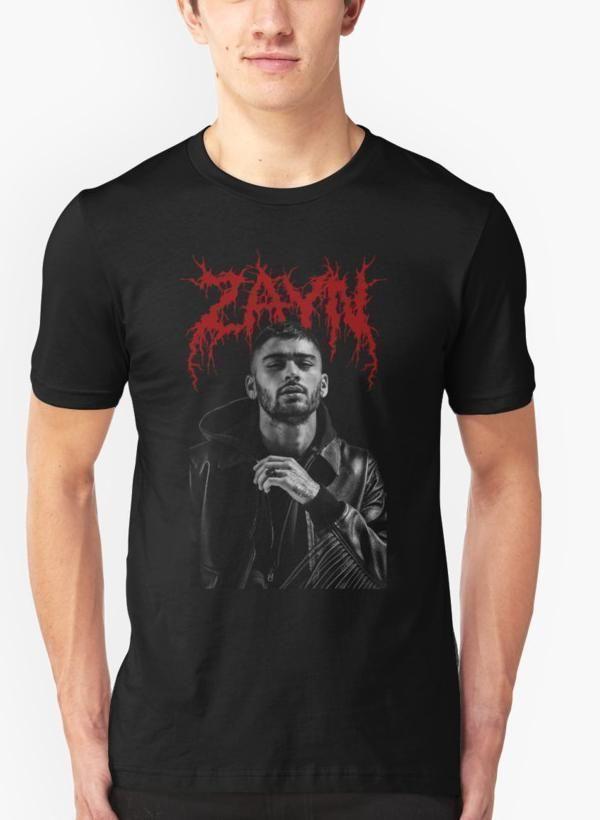1db5907c Zayn Malik band Black Malange T-shirt in 2019 | Products | T shirt ...