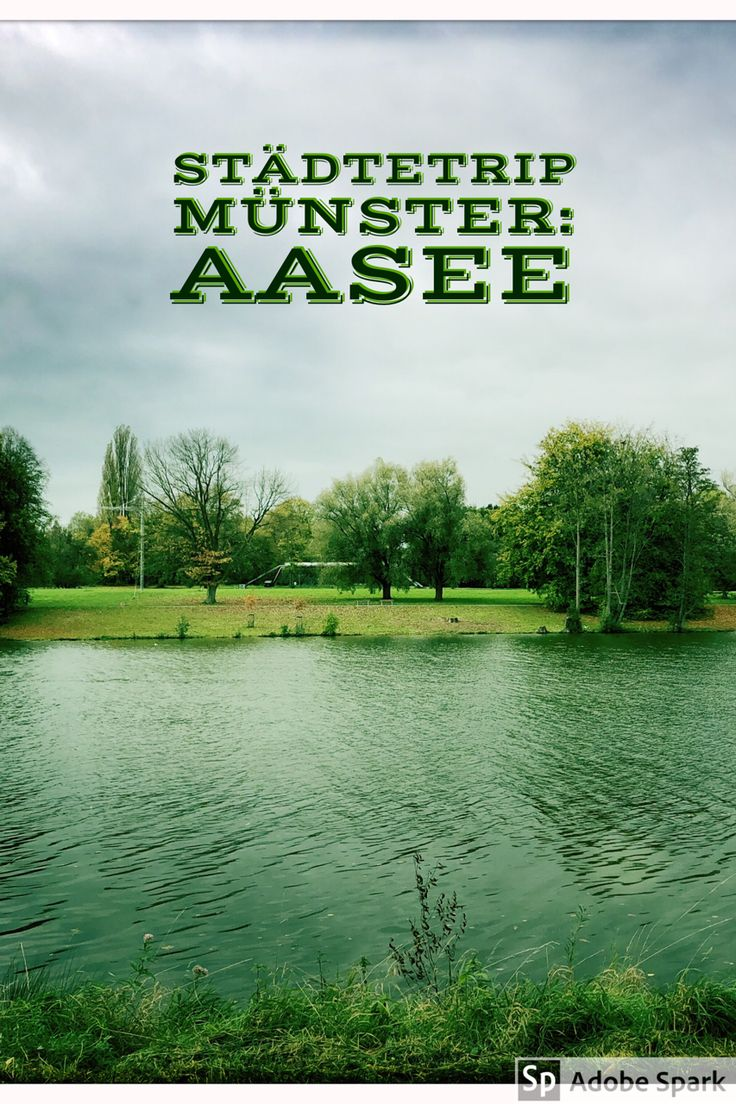 Der #Aasee ist nicht weit von der Innenstadt in #Münster - und für einen Spaziergang optimal.