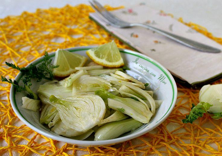 Insalata di finocchi e limoni