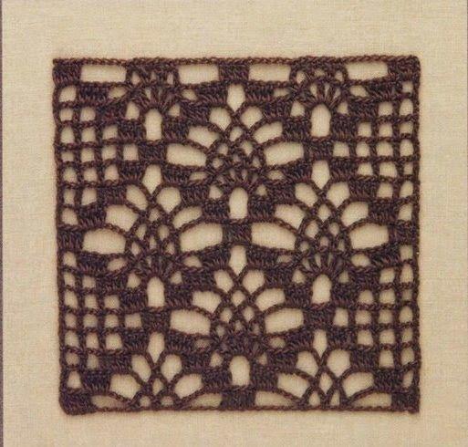 Ivelise Feito à Mão: Square Fácil De Crochê