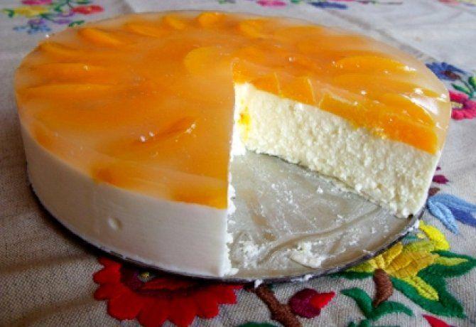 Túrótorta sütés és tojás nélkül recept
