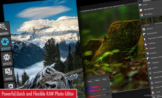 Powerful Quick and Flexible RAW Photo Editor - ON1 Photo RAW 2017 http://webneel.com/on1-raw-photo-editor | Design Inspiration http://webneel.com | Follow us www.pinterest.com/webneel