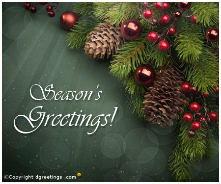 Season's Greetings!!