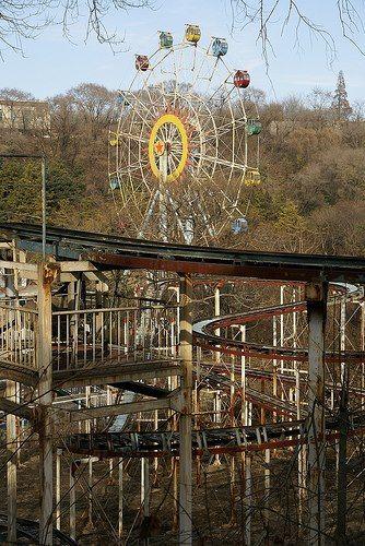844 best urban explorer abandoned vergivna platser images on takakanonuma greenland japan ferris wheel sciox Choice Image