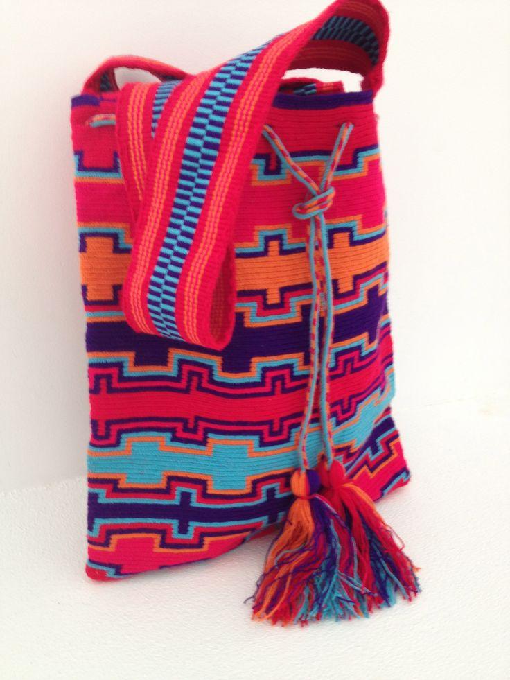 Designed by Tatiana Kamle…. handmade by Wayuu artisans