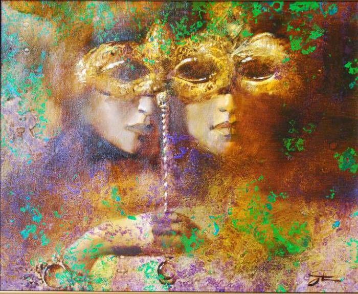 Венецианский карнавал. Автор: Олег Чубаков.