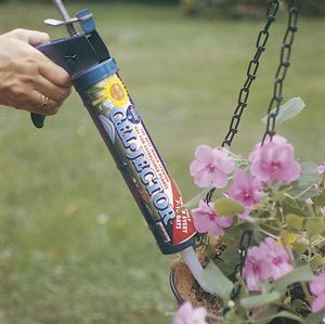 RAIN GEL-JECTOR/ from Kinsman Garden Company.  Inject gel which expands to hold more water.