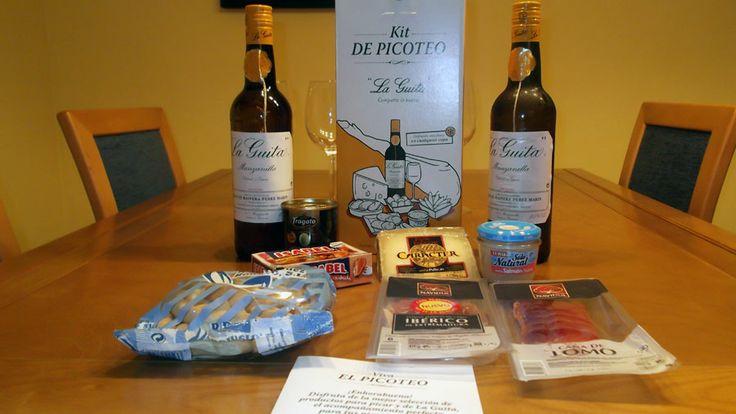 Todos los productos del Kit de Picoteo de Manzanilla La Guita.