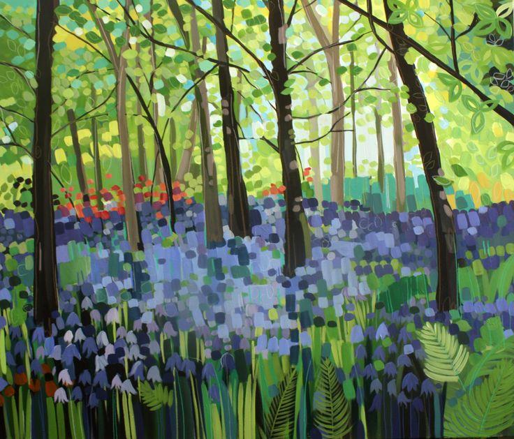 bluebells, Janet Bell