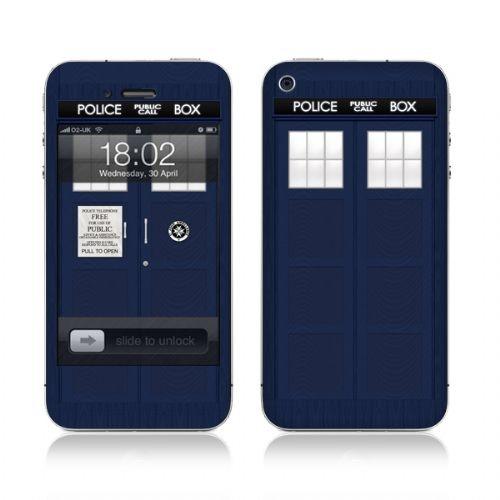 TARDIS Phone skin!!