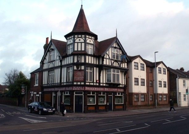The Florist public house, Fratton Road has a 1928 facade. It was built as a coach house in 1869, making it one of the oldest pubs in Portsmouth