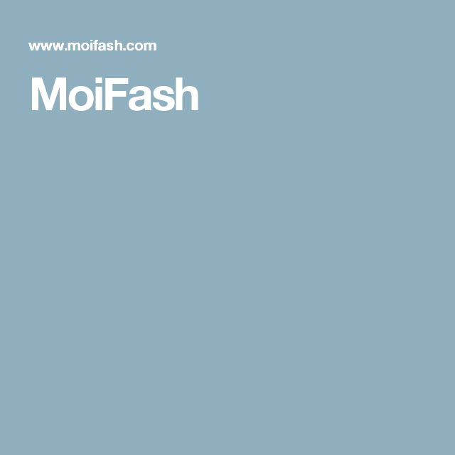MoiFash