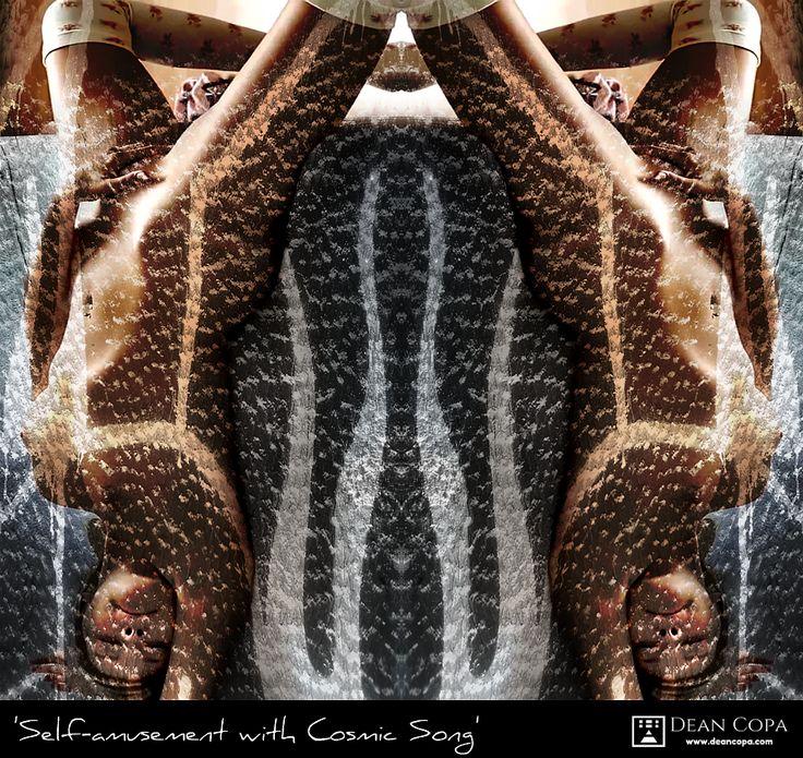 """Self-Amusement with Cosmic Song"" 2014 by Dean Copa. // Instagram : http://www.instagram.com/dean_copa"