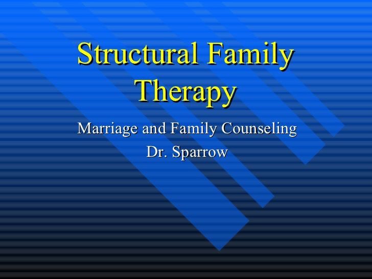 structural family therapy counseling approach essay Running head: a cognitive behavioral approach 1 a cognitive behavioral approach to family counseling kimberly a osburn liberty university online october 14, 2011 a cognitive behavioral approach 2 abstract goldenberg and goldenberg describe several empirically validated theoretical approaches to family therapy.