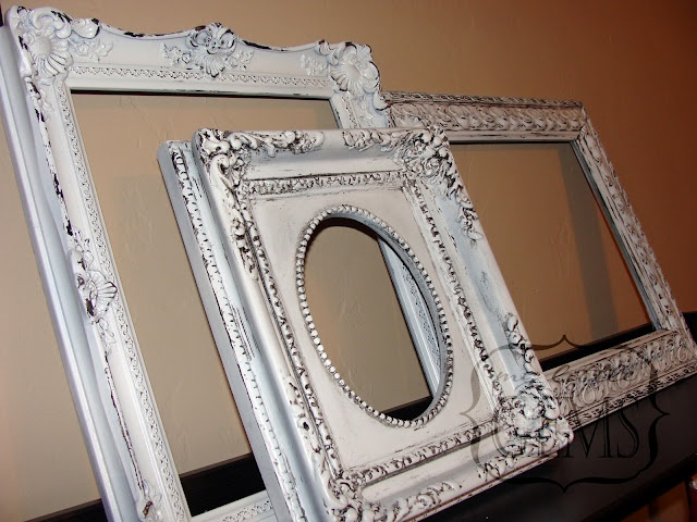 Have you seen these frames from Pottery Barn DIY