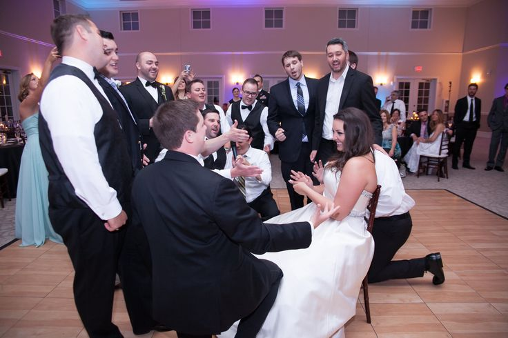 Groom's Fraternity brothers sing a song to the bride. They do this for every wedding! such a cool tradition! #weddingtraditions Photography: TRU Identity Photography & Designs