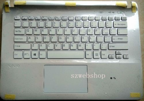 48.20$  Buy here - http://alii3z.shopchina.info/go.php?t=32804576663 - New  laptop for US keyboard SONY vaio SVF14326SCW SVF1431AYCW Palmrest touchpad cover  #aliexpressideas