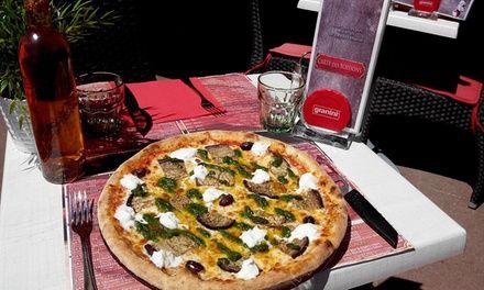 Pizza classique et pizza dessert pour 2 - Restaurant Piz'zatti Nice à Nice