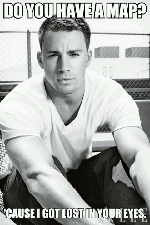 Channing pick up line