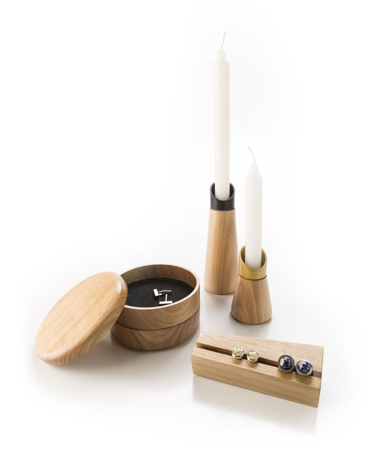 collection of wooden objects by Robyn Wood