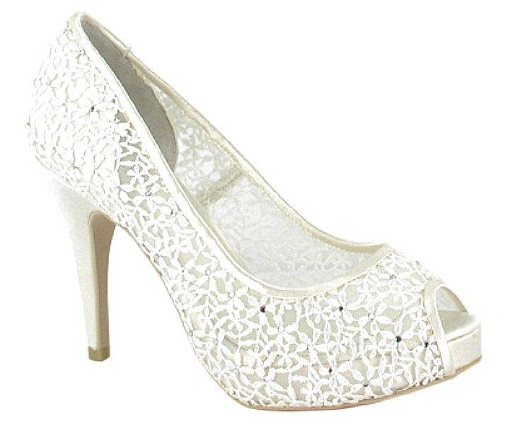 Menbur High heels - ivory