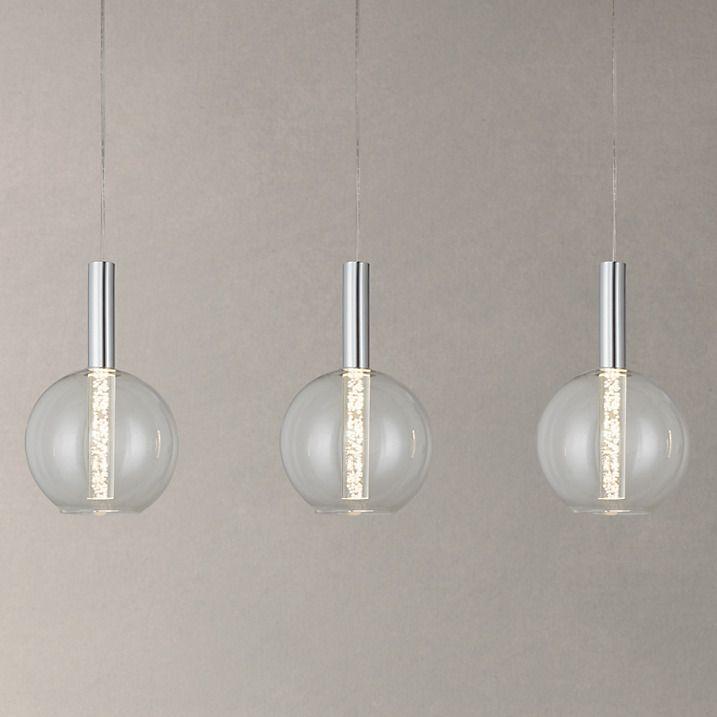 Led Ceiling Lights John Lewis : Orson led bubble bar ceiling light john lewis