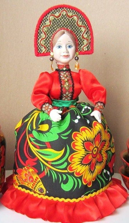 Russian doll tea cosy.