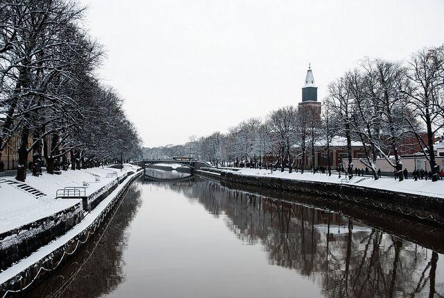Turku in winter time