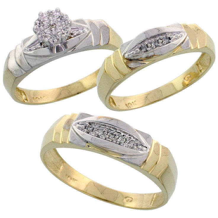 Yellow Gold Wedding Sets For Her