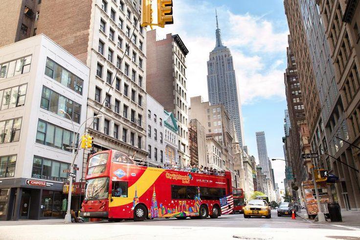 Stadtrundfahrt New York Hop-on/ Hop-off Tour - 48h-Ticket - alle Linien