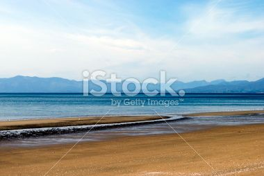 Pakawau Beach, Collingwood, Golden Bay, New Zealand Royalty Free Stock Photo