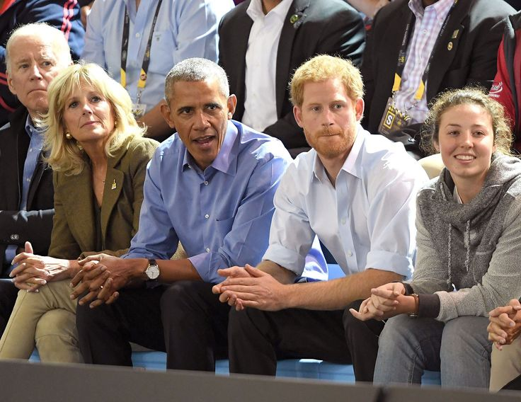 Prince Harry Brings Two Special Guests to the Invictus Games — Barack Obama and Joe Biden!
