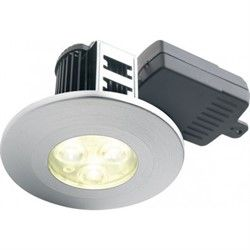 Halers H2 Pro 550T Dimmable Mains LED Downlight with Terminal Block- Warm White 60 Degree