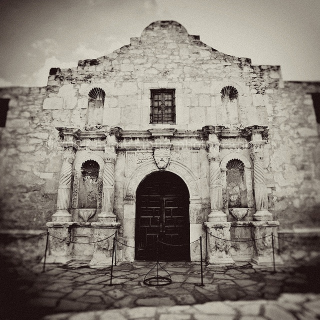 Mar. 6, 1836, Davy Crockett, James Bowie, Col. William Travis and 184 Texas soldiers are wiped out as the Alamo in San Antonio, Texas, falls into the hands of the Mexican Army.
